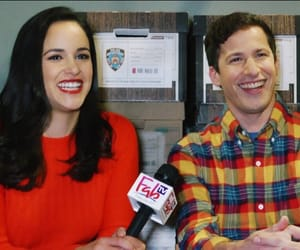 andy samberg and melissa fumero image