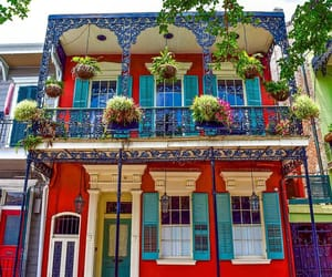 architecture, new orleans, and usa image