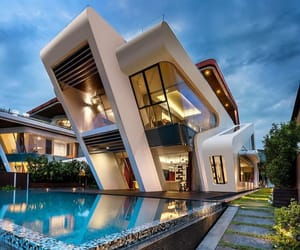 architecture, singapore, and modern image