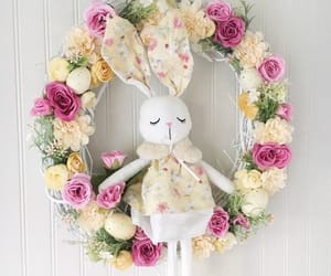 etsy, easter decoration, and grapevine wreath image