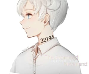 anime, yakusoku no neverland, and fanart image