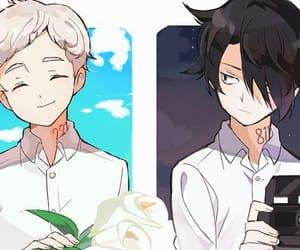 anime, yakusoku no neverland, and fanart image