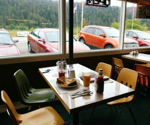 aesthetic, diner, and food image
