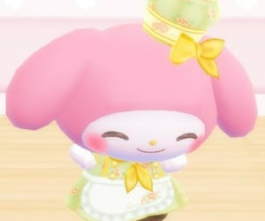 HelloKitty, melody, and pastel image