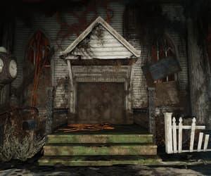 apocalypse, vines, and church image