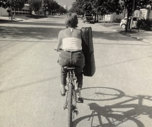 bike, old time, and violin image