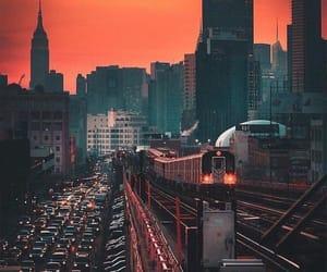 beautiful, cars, and sunset image