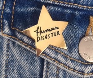 jeans, star, and human disaster image