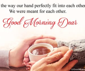 good morning dear, morning love greetings, and i love you morning msgs image