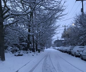 seattle, snow, and snowy image
