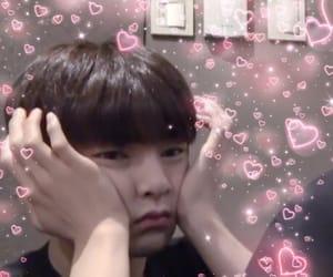 boy, heart, and kpop image
