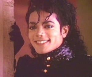 mj, michael jackson, and smile image
