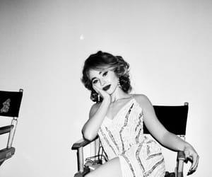 black and white, dress, and sabrina carpenter image