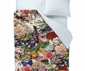 autum, bedding, and style image