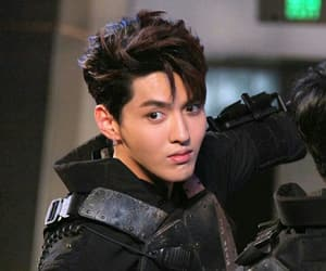 k-pop, wu, and wu yifan image