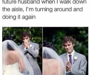 funny, husband, and cute image