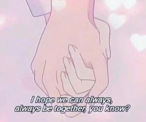 anime, anime quote, and love quote image