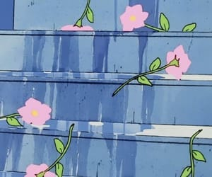 flowers, anime, and aesthetic image