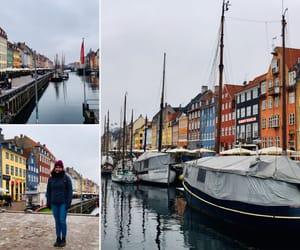 copenhagen, winter, and nyhavn image
