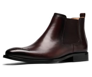 men leather boots, mens ankle boots, and men short boots image