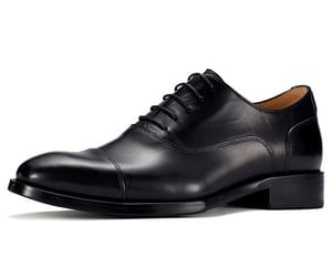 men elevator shoes, formal dress shoes, and handmade leather shoes image