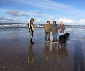 beach, denmark, and sunshine image
