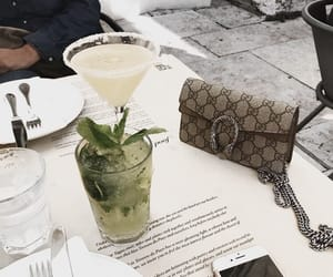 bag, drink, and drinks image