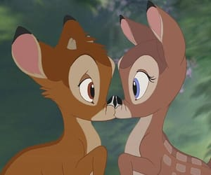 bambi, disney, and love image