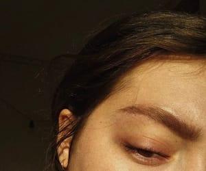 black, ear, and eye image