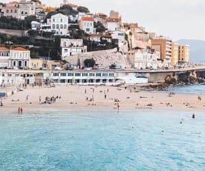 landscape, marseille, and méditerranée image