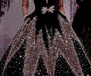 big dress, dress, and fashion image