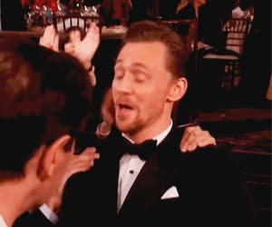 gif, golden globes, and tom hiddleston image
