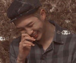 leader, kim namjoon, and smile image