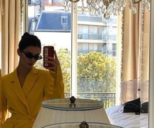 beauty, yellow, and kendall jenner image