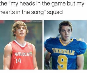riverdale, high school musical, and troy bolton image