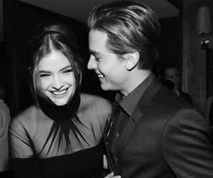 happy, dylan sprouse, and barbara palvin image