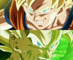 anime, sangoku, and super sayian image