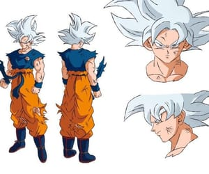 anime, sangoku, and ultra instinct image