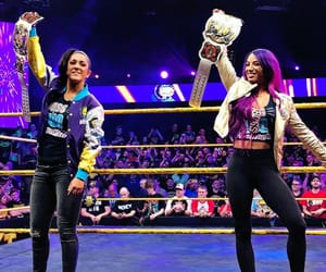 wwe, the legit boss, and bayley image