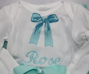 baby clothes, baby girl gift, and babygirl image