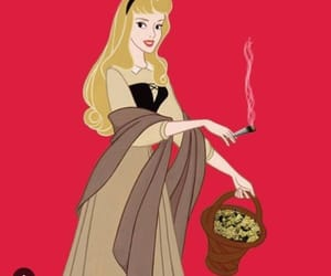 aurora, weed, and princess image