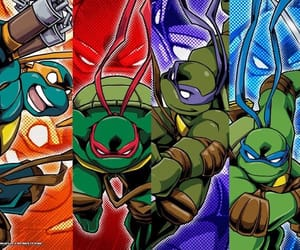 Leonardo, ninja turtles, and tmnt image