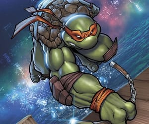 ninja turtles, tmnt, and michael angelo image