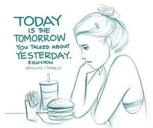 tomorrow, yesterday, and start now image
