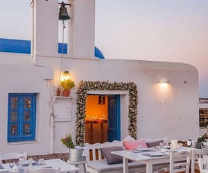 architecture, Greece, and cyclades image