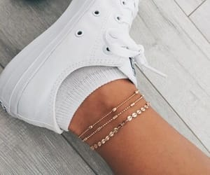 converse, legs, and shoes image
