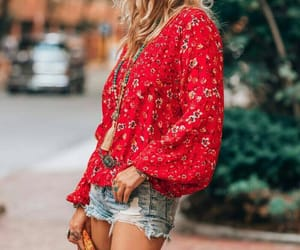 blouse, clothes, and jewelry image