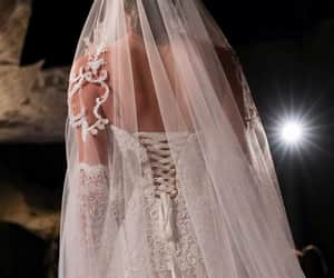 wedding dress, reem acra, and Couture image