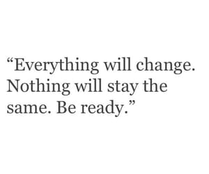 change and be ready image