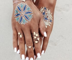 accessories, hands, and rings image